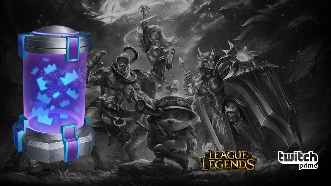 Twitch Prime members: Get a Summoner's Crown Capsule in League of Legends!